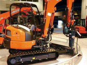Kubota KX033-4 Mini Excavator Image