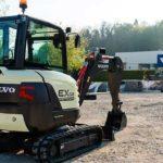 Volvo EX2 Electric Compact Excavator Image