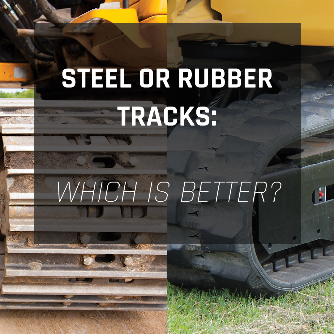 Steel or Rubber Tracks: What should I use? | Mainline Track