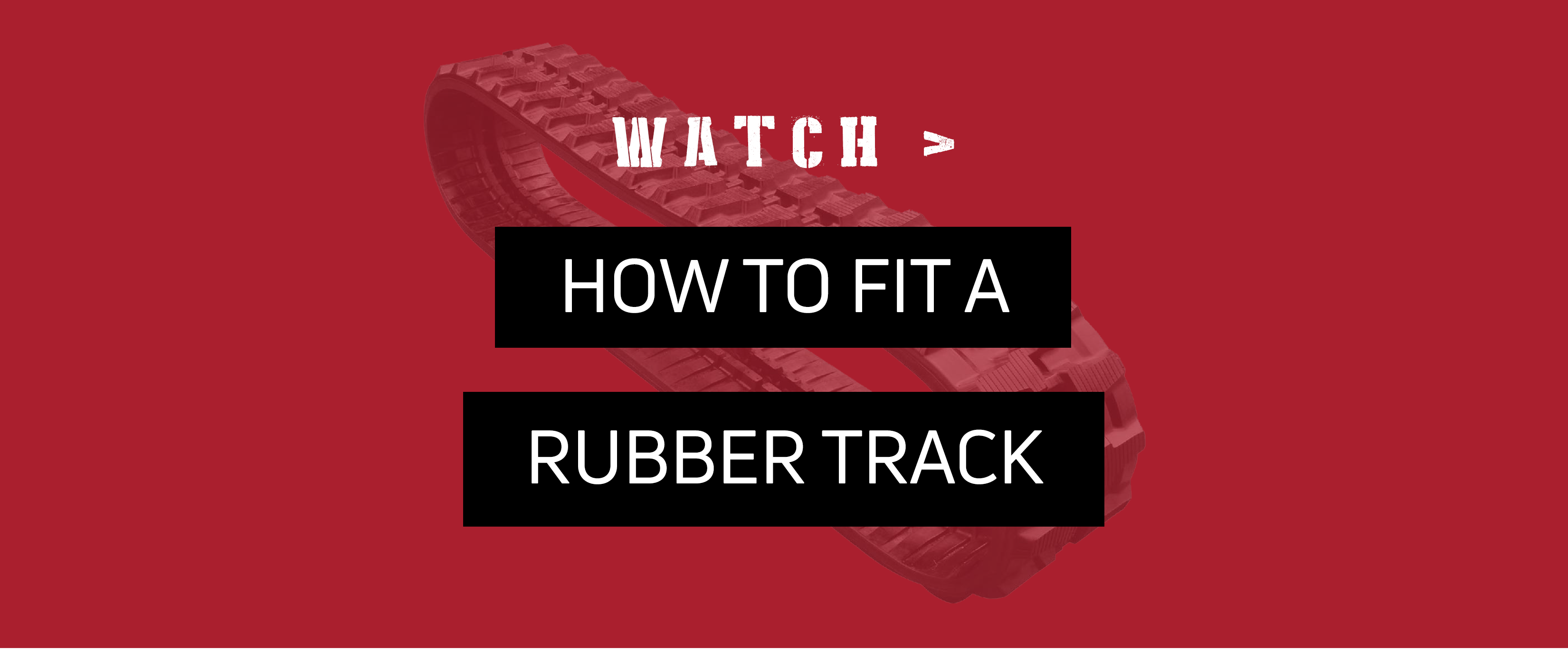 WATCH: How To Fit A Rubber Track