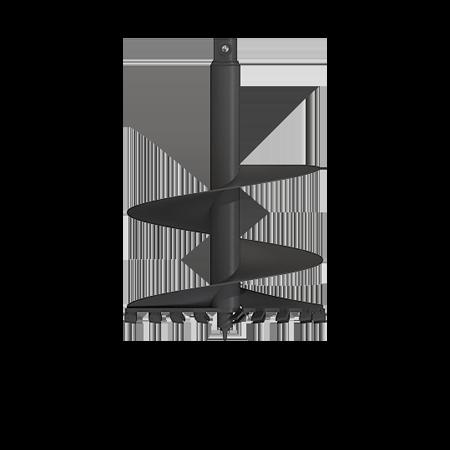 Auger Komatsu PC240-5